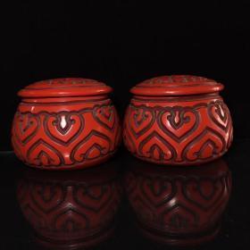漆器围棋罐