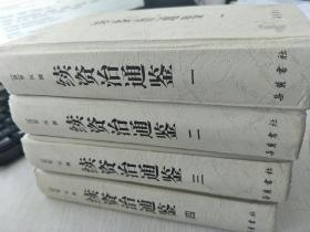 续资治通鉴 (全四册)岳麓出版社