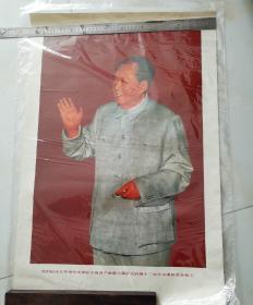 我们的伟大领袖毛主席在中国共产党第八届扩大的第十二次中央委会全会上。