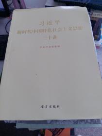(正版4)习近平新时代中国特色社会 主义思想三十讲9787514708554