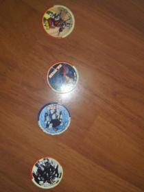 真金不怕火炼圆卡:宠物小精灵8枚、英雄奥特曼(卡之宝)4枚、百变机兽2枚(小二郎)、火焰七龙珠4枚(真金不怕火炼)、赛尔号(动画制作)8枚(2枚闪卡)动画制作、植物大战僵尸(真金不怕火炼)4枚、宠物小精灵神奇宝贝2枚(小二郎)、机动战士高达4枚(小二郎)34枚合售(都少比较少见型)