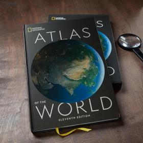 英文原版 美国国家地理 世界地图集 地图册 National Geographic Atlas of the World, Eleventh Edition 最新第十一版