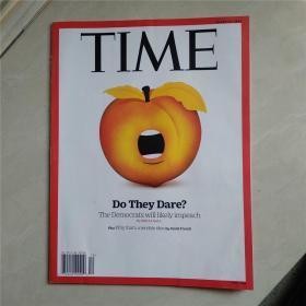 TIME MARCH 25,2019(英文原版,美国时代周刊)最佳英语阅读资料最好英语学习资料|/英文原版杂志