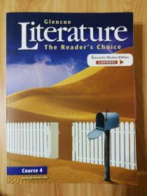 Glencoe Literature The Readers Choice course4(Interactive Student Edition contents)