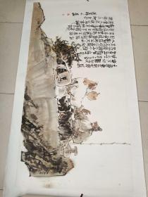中国美协会员天津美协理事著名画家马寒松作品8平尺