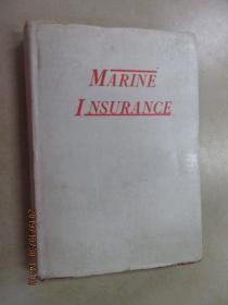 外文书  MARINE INSURANCE 精装本 共574页