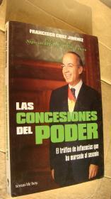 LAS CONCESIONES DEL PODER  西班牙语原版 16开
