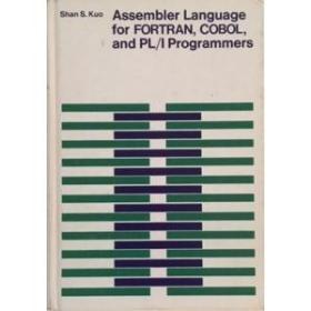 【英文原版汇编语言专著】 Assembler language for FORTRAN,COBOL,and PL/1 programmers