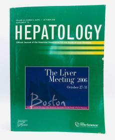 Hepatology (Vol. 44 No. 4 2006-10): Official Journal of the American Association for the Study of Liver Diseases 英文原版《肝病学》美国肝病研究协会官方杂志