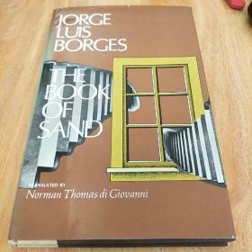 博尔赫斯 Luis Borges 签名 沙之书 the book of sand 译者双签名