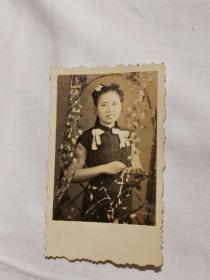 早期旗袍美女照片
