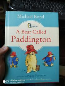 英文原版精装:a bear called paddington