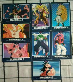 国外原版动画片卡片8种