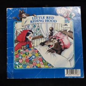 英文原版绘本 LITTLE RED RIDING HOOD