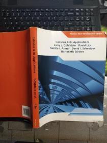 Calculus & Its Applications   微积分与应用 第13版  英文原版