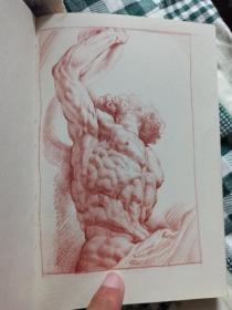 鲁本斯素描临摹,包邮,石膏素描