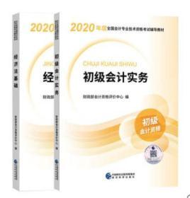 2020新版初级会计职称考试官方教材初级会计实务+经济法基础