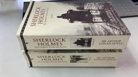 SHERLOCK HOLMES 全二卷,福尔摩斯探案集,英文原版