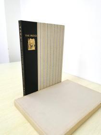 Aristophanes The Birds The Frogs 《阿里斯托芬戏剧集 鸟与蛙》 heritage press 1959年 布面精装版 带书匣 两册合一特色装帧