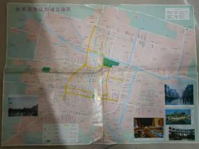 《张家港市交通旅游图》