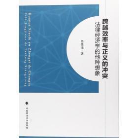正版二手 跨越效率与正义的冲突:法律经济学的他种想象 中国政法大学出版社 9787562079118