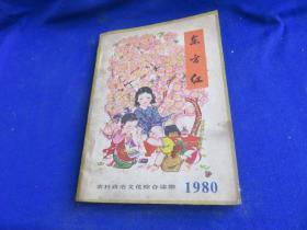 农村政治文化综合读物 东方红 1980