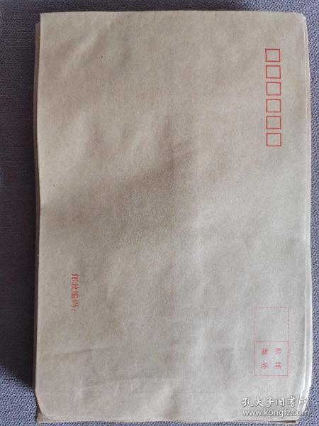 牛皮纸信封,空白全新,加厚老牛皮纸,100个/10元,该信封长13厘米,宽6厘米。