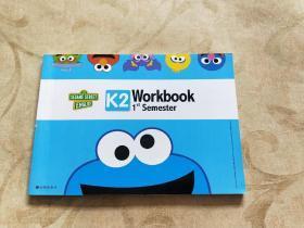 芝麻街英语SESAME STREET ENGLISH K2 Workbook 1st Senester