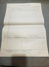 邮电史料文献:90年电报电话交换量质量记录汇总表