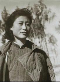 传奇女子曾为项英和张爱萍妻子的李又兰老照片10张5吋hw