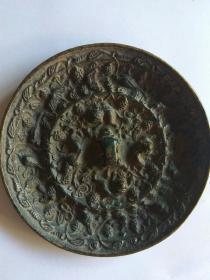 古铜镜~鸟兽杂纹