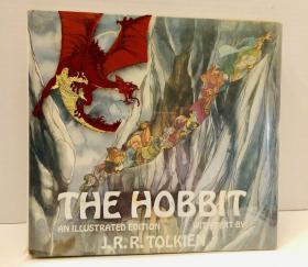 珍本,《 The Hobbit》彩色插图版,1977年出版,精装
