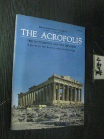 英文原版  The Acropolis 雅典卫城