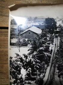 入选中国风光摄影艺术展览《小镇——韶关雪景》  后有作者亲笔说明