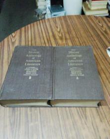 诺顿美国文学诗文选集(第一卷A.B)两大厚本合售