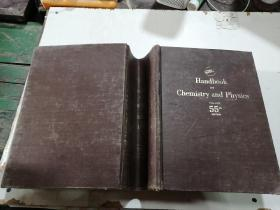 Handbook of chemistry and physics 55th(化学与物理手册第55期)外文版