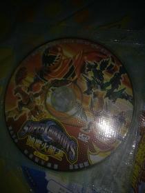 儿童科幻片动画片VCD奥特曼系列光碟之神魔火龙王 魔法战队一碟看图 裸盘