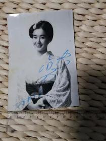 【超珍罕】 中野良子(真由美 饰演者) 签名 照片(81年)