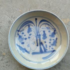 清代青花小盘2
