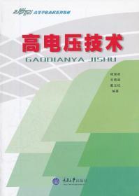 高电压技术 杨保初,,戴玉松著 重庆大学出版社 9787562424413