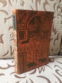The Life and Strange Surprising Adventures of Robinson Crusoe of York, Mariner by Daniel Defoe 笛福《鲁滨逊历险记》1972 Folio出品 John Lawrence 精美雕版插画