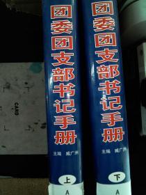 团委团支部书记手册【上,下 两本合售】【精装馆藏】