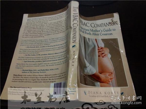 原版英法德意等原版外文 THE VBAC COMPANION 1997年 小16开平装