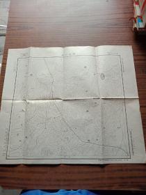 推古神庙(地图民国)52.45cm