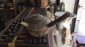 潮州煮水茶具,铜炉