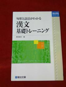 句型 语法 汉文基础 日文 32开