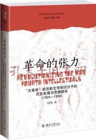 """革命的张力:""""大革命""""前后新文学知识分子的历史处境与思想探求"""