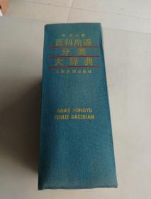 百科用语分类大辞典