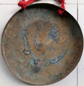 建国后 铜锣 直径32.5CM