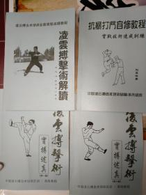 凌云搏击术 4册合售附盘 刘亚林著